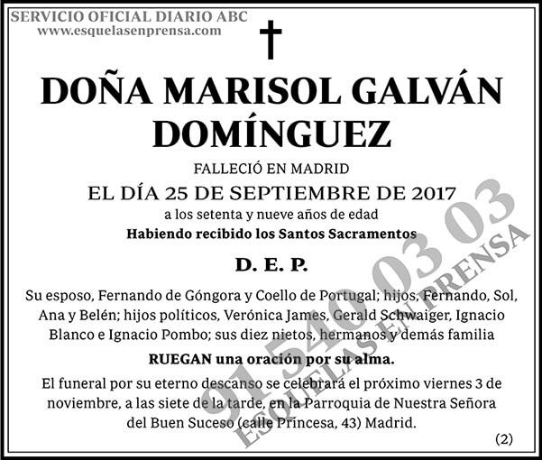 Marisol Galván Domínguez